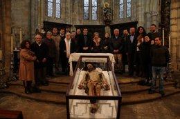 Foto: El Señor del Santo Sepulcro se data entre 1570 y 1630 (AYUNTAMIENTO)