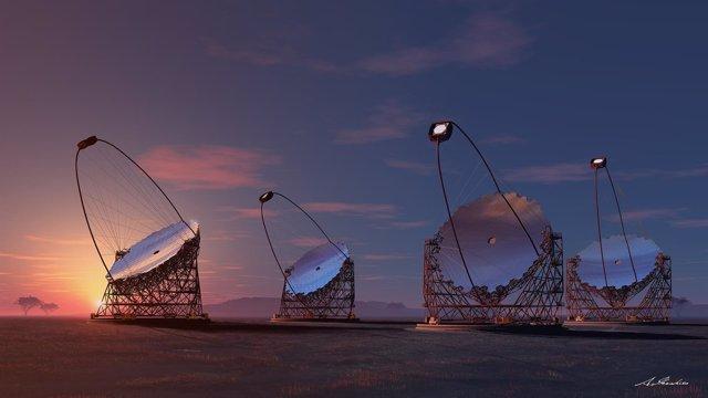 Foto: La red de telescopios Cherenkov inicia las negociaciones para su posible ubicación en La Palma