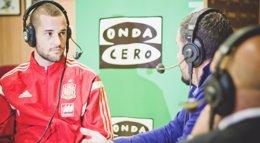 """Foto: Mario Suárez: """"El Atleti me prometió varias cosas cuando no salí en enero y las está cumpliendo"""" (MARIAN MOLINA)"""