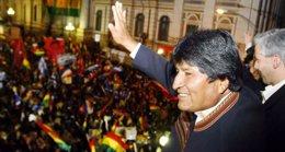 Foto: Morales anima a los bolivianos a acudir a las urnas el domingo (COMUNICACION.GOB.BO)