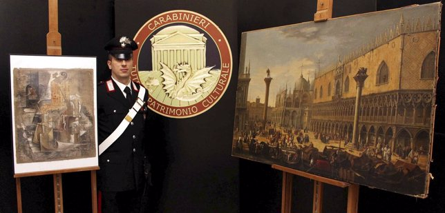 La Polic�a italiana encuentra un 'Picasso' robado valorado en 15 millones de euros