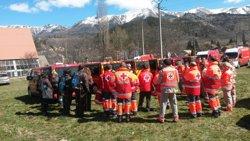 Foto: Acc.Aeri.- Creu Roja reforça els equips de suport psicosocial (CREU ROJA)