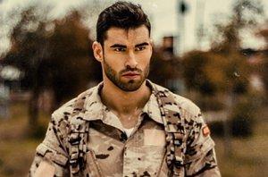 Foto: Rubén López, el militar Mister Universo...¿a 'Supervivientes'? (TWITTER)