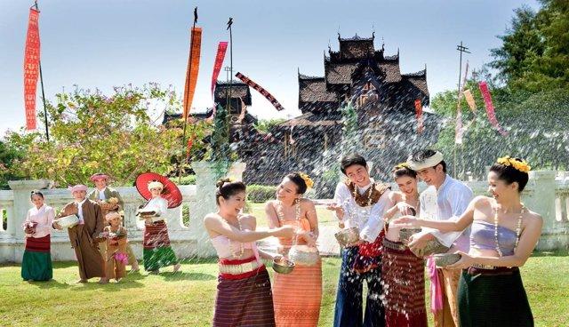 Foto: El Año Nuevo tailandés se celebrará del 13 al 15 de abril