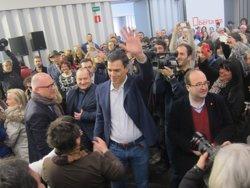 Foto: Iceta creu que Pedro Sánchez està més a prop de La Moncloa (EUROPA PRESS)