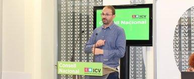 """Foto: Herrera assegura que ICV lluitarà contra el """"sadisme"""" d'algunes polítiques (EUROPA PRESS)"""