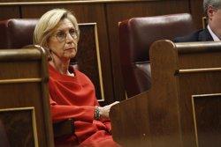 Foto: Rosa Díez rebutja dimitir: