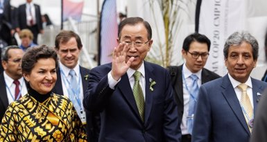 Foto: Ban Ki-moon insisteix que les negociacions són l'única sortida (TWITTER @LIMACOP20)