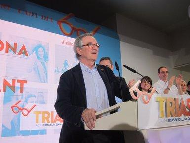 """Foto: Trias afronta la reelecció amb el compromís de """"canvi tranquil i profund"""" (EUROPA PRESS)"""