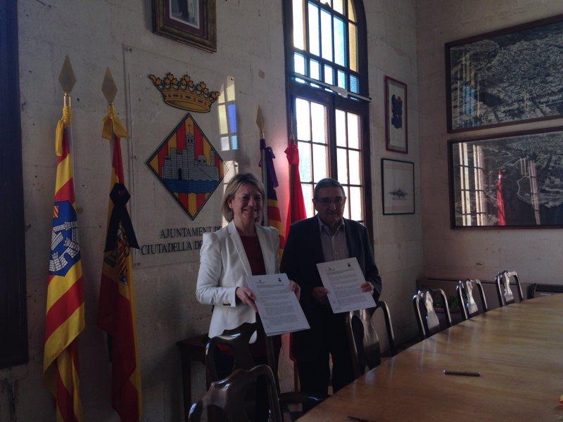 El Govern concede 400.000 euros al Ayuntamiento de Ciutadella para mobiliario del Teatro d'Es Born