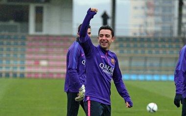 Foto: Xavi, cerca de firmar con el Al Sadd (FCB)