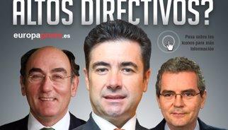 Top 10: Los directivos del Ibex con los sueldos más altos en 2014