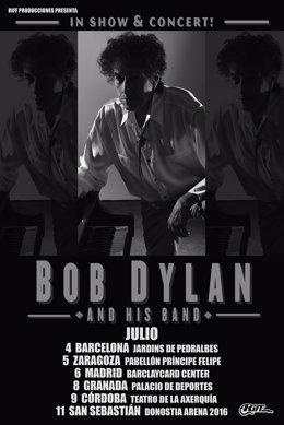 Foto: Entradas a la venta para escuchar a Bob Dylan (RIFFMUSIC/ARCHIVO)