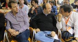 """Foto: Iceta pide a ICV-EUiA que """"luche"""" por una ley electoral catalana más proporcional (EUROPA PRESS)"""