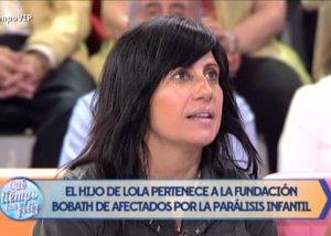 """Foto: Lola Sánchez Camacho: """"La donación de Belén Esteban fue inesperada"""" (¡QUÉ TIEMPO TAN FELIZ! )"""