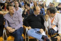 Foto: Iceta demana a ICV-EUiA una llei electoral catalana més proporcional (EUROPA PRESS)