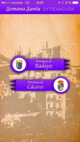 Foto: Una app informará sobre la Semana Santa en seis ciudades extremeñas (REMITIDA)
