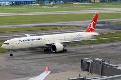 Foto: Turquia.- L'avió de Turkish Airlines segueix el seu viatge després de no trobar-se explosius (WIKIPÉDIA)
