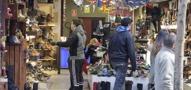 Foto: El comercio minorista aumentó sus ventas un 2,6% en febrero (EUROPA PRESS)