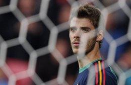 "Foto: De Gea: ""Casillas sigue siendo el titular"" (DARREN STAPLES / REUTERS)"