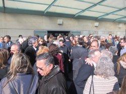 Foto: El comiat a Margarita Rivière reuneix la cultura i periodisme de Barcelona (EUROPA PRESS)
