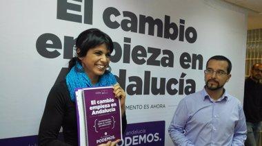 Foto: Podemos no elige parlamentarios andaluces para negociar la investidura (Europa Press/Archivo)