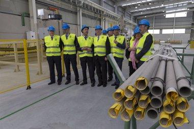 Foto: Tubacex inicia su actividad en Cantabria y aspira a crear 100 empleos en cuatro años (GOBIERNO )