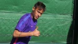Foto: Neymar i Bravo es reincorporen als entrenaments del Barça en espera de més internacionals (MIGUEL RUIZ/FCB)