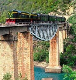 Foto: El Tren dels Llacs inaugura la seva setena temporada aquest dissabte (DIPUTACIÓ DE LLEIDA)