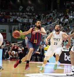 Foto: El Reial Madrid buscarà a Barcelona la seva cinquena victòria consecutiva en un 'clàssic' europeu (ACB PHOTO)