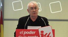 "Foto: Cayo Lara abronca a IU y pide ""paz"" interna: ""Nos estamos matando"" (EUROPA PRESS)"