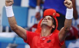 Foto: Ferrer acaba con Simon y accede a cuartos de final (BRANDON MALONE / REUTERS)