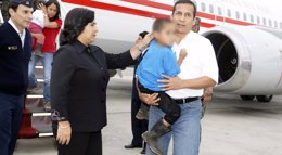 """Foto: Humala tacha de """"irresponsable"""" al Congreso de Perú por censurar a Jara (HANDOUT . / REUTERS)"""
