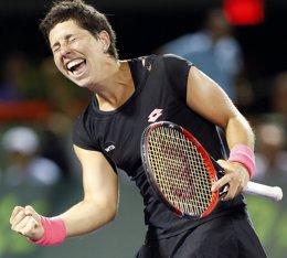Foto: Carla Suaréz se clasifica para semifinales en Miami (REUTERS)