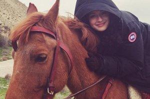 Foto: María Valverde, una amante de los caballos (INSTAGRAM/MARÍA VALVERDE )