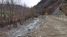 Foto: Terminan los trabajos de restitución del cauce del río Noguera de Tor en El Pont de Suert (CHE)