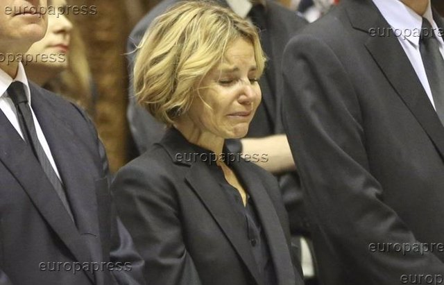 Foto: La tremenda tristeza de Eugenia Martínez de Irujo (RAUL TERREL /CHANCE )