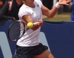 Foto: Carla Suárez es fa gran davant Venus Williams i es cola a semifinals (LUIS RAMIREZ/CON)
