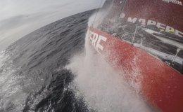 Foto: El 'MAPFRE' se mantiene tercero en el ascenso por la costa argentina (FRANCISCO VIGNALE / MAPFRE / VOLVO OCEAN RACE)