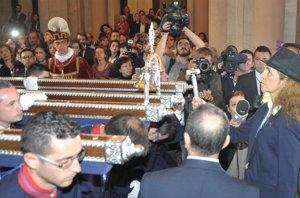 Foto: La Infanta Elena, un año más en la procesión de los Alabarderos (EUROPA PRESS)