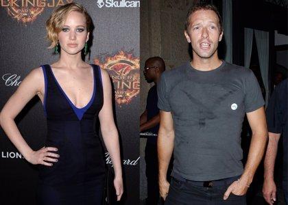 Foto: Jennifer Lawrence y Chris Martin aún siguen manteniendo su historia de amor
