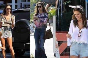 Foto: Alessandra Ambrosio: sus claves para vestir en entretiempo (CORDON PRESS)