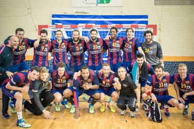 Foto: El FC Barcelona conquista su quinta Liga Asobal consecutiva (ÓSCAR BARRIOS (MMT SEGUROS ZAMORA)