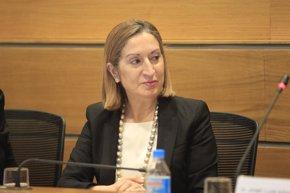 Foto: Pastor anuncia obras del AVE por 2.400 millones hasta fin de año (EUROPA PRESS)