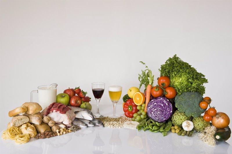 Qu alimentos forman la dieta mediterr nea - La mediterranea ...