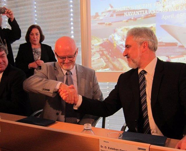 Navantia y Royal Caribbean Ltd firman un convenio marco de colaboración