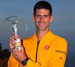 Foto: Djokovic, la selección alemana y Ricciardo ganan los Premios Laureus (JULIAN FINNEY)