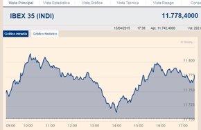 Foto: El Ibex 35 repunta un 0,63%, por debajo de los 11.800 enteros (EUROPA PRESS)