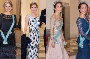 Foto: Las royals se visten de gala en el 75 cumpleaños de Margarita de Dinamarca (CORDON PRESS)