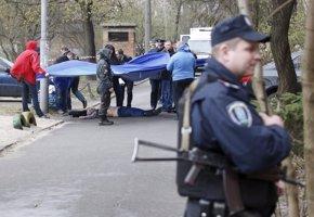 Foto: Asesinado a tiros por enmascarados un periodista opositor ucraniano en Kiev (REUTERS )